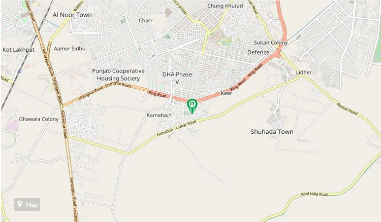 1 Kanal Plot for Sale in Lahore Phase-1