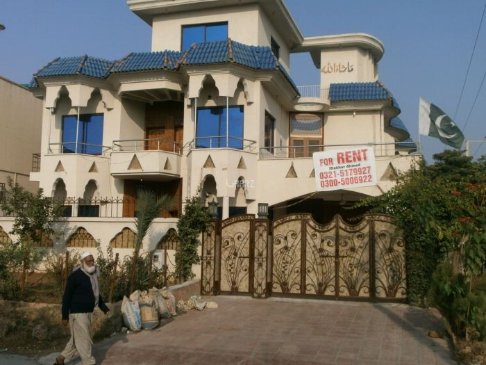 2 Kanal House for Rent in Lahore Sui Gas Society Phase-1