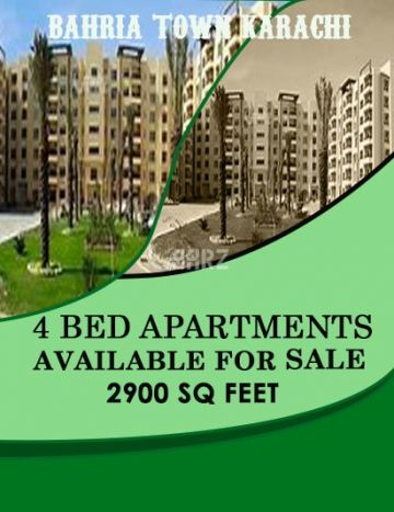 2900 Square Feet Apartment for Sale in Karachi Bahria Heights