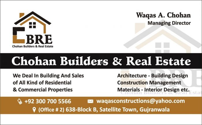 4510 Square Feet Commercial Building for Sale in Gujranwala Block B