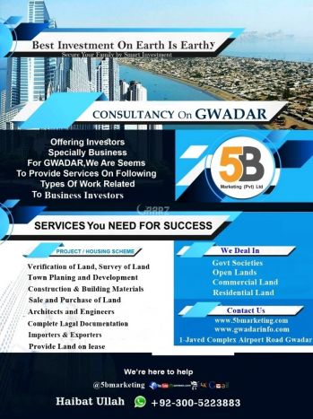 8 Kanal Commercial Land for Sale in Gwadar Gwadar