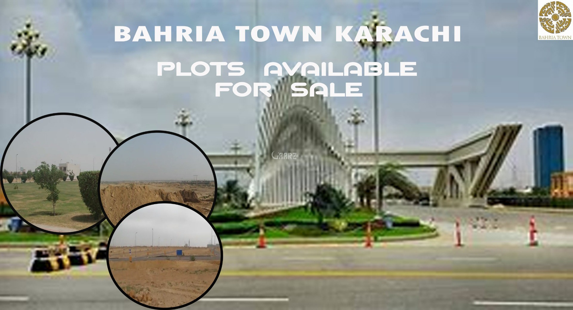 1000 Square Yard Residential Land for Sale in Karachi Bahria Town Precinct-18