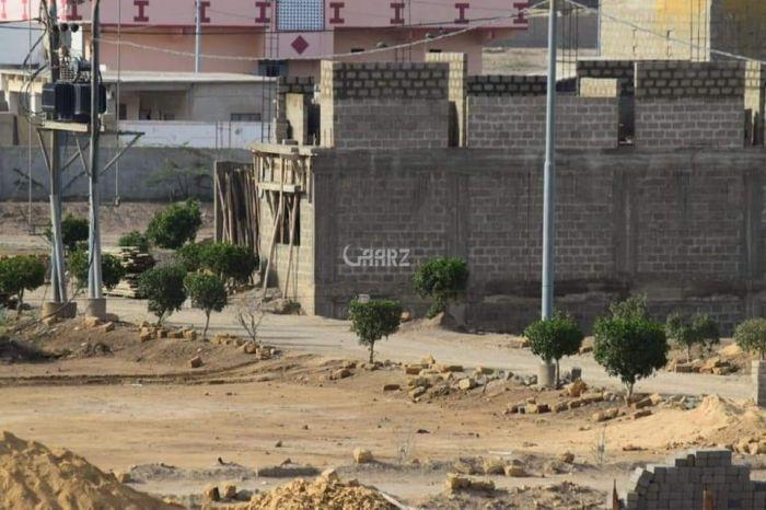 120 Square Yard Plot for Sale in Karachi Scheme-33, Rok Society Sector
