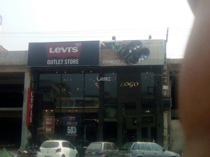 1210 Square Feet Commercial Shop for Sale in Faisalabad Chen One Road