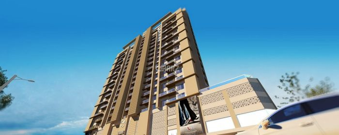2060 Square Feet Apartment for Sale in Karachi Bahria Apartments