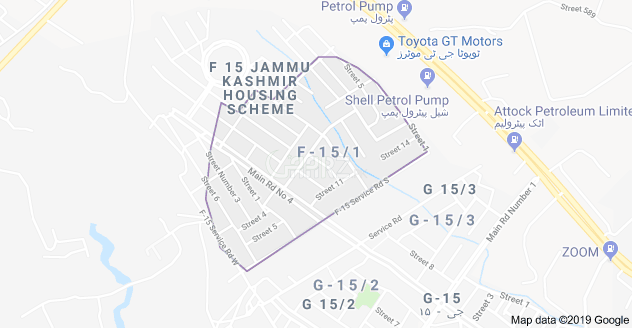 272 Square Yard Plot for Sale in Islamabad F-15/1