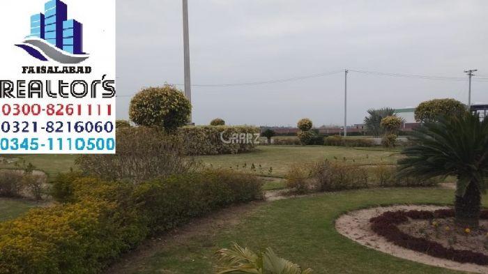 28 Kanal Commercial Land for Sale in Faisalabad Sahianwala