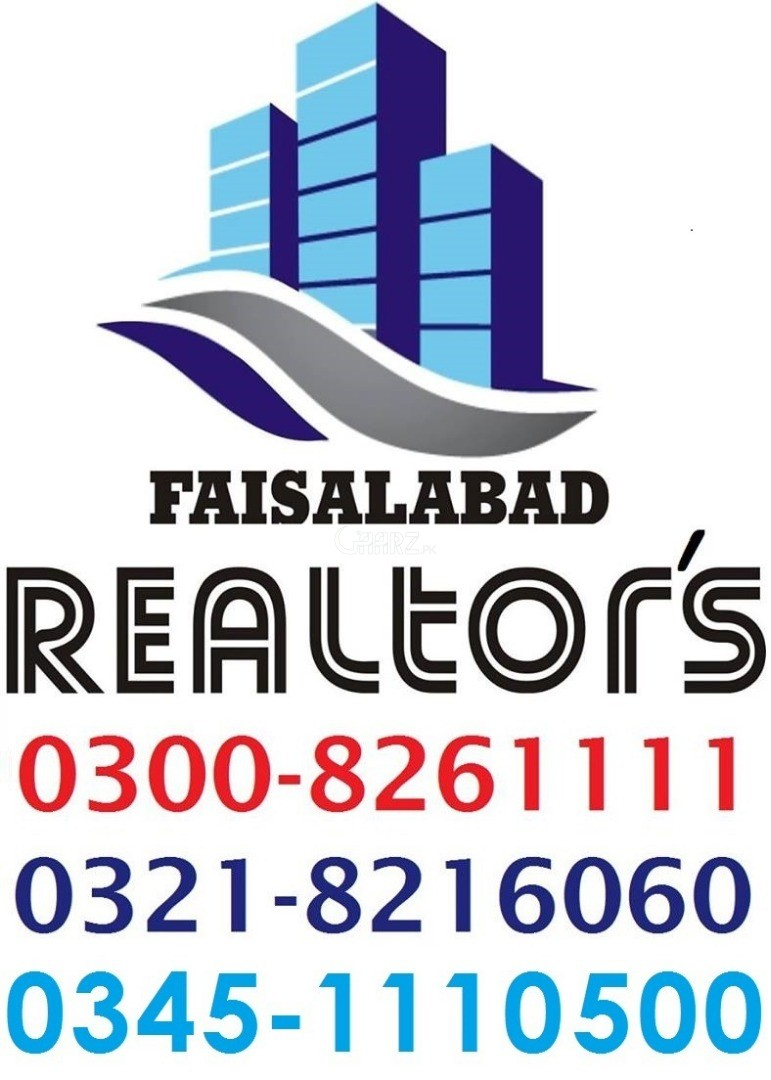 300 Square Feet Commercial Office for Sale in Faisalabad Kohinoor