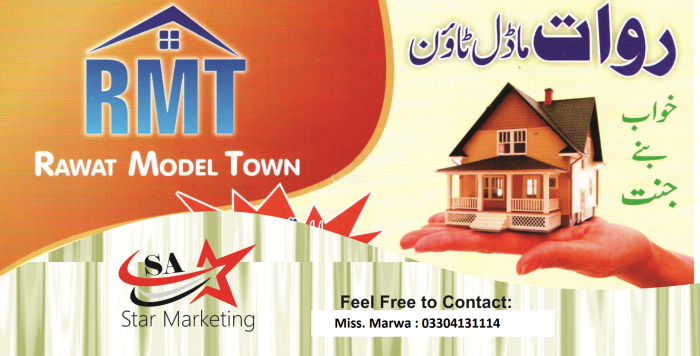 5 Marla Residential Land for Sale in Rawalpindi Jawa Road Rawat