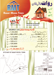 5 Marla Residential Land for Sale in Rawalpindi Rawat Model Town