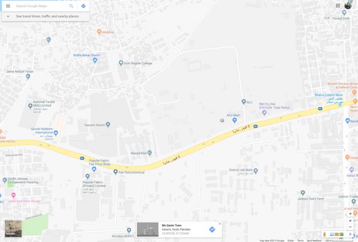 680 Square Yard Plot for Sale in Karachi Opposite Bacha Jail
