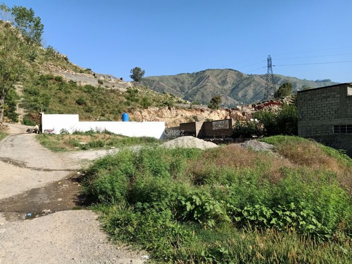 1 Marla Residential Land for Sale in Abbottabad Suzuki Showroom Salhad