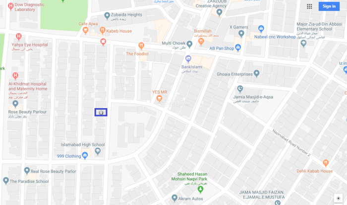 230 Square Yard 1st Floor for Sale in Karachi Block-1