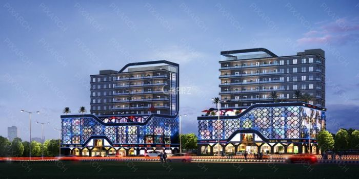235 Square Feet Commercial Shop for Sale in Islamabad Block D, Gulberg Greens,