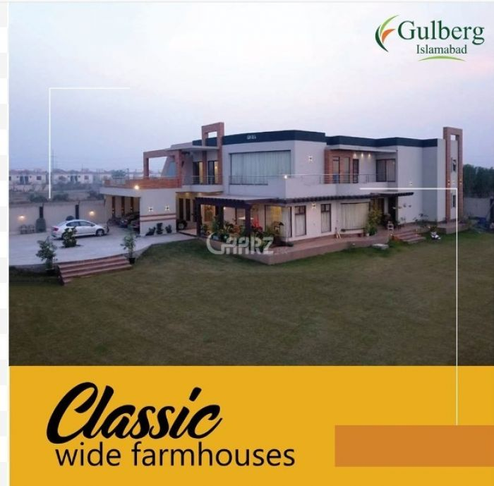 4 Kanal Residential Land for Sale in Islamabad Gulberg Greens