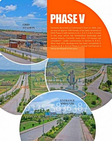 1 Kanal Residential Land for Sale in Islamabad DHA Phase-5