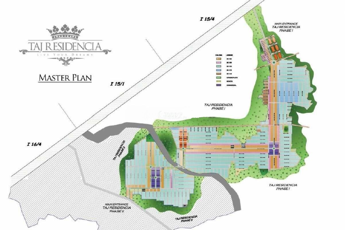 1 Kanal Residential Land for Sale in Islamabad I-14/1