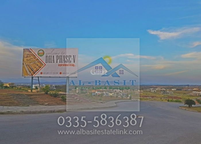 1000 Square Yard Residential Land for Sale in Islamabad DHA Defence, Phase-5 Sector C