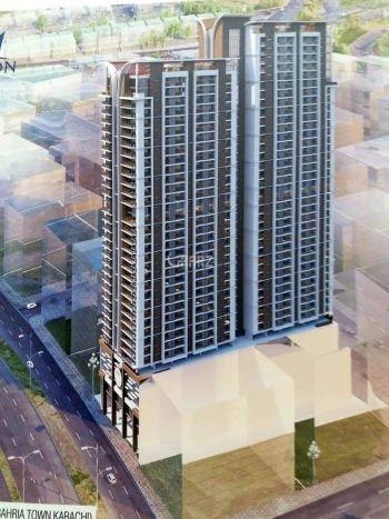1705 Square Feet Apartment for Sale in Karachi Bahria Apartments