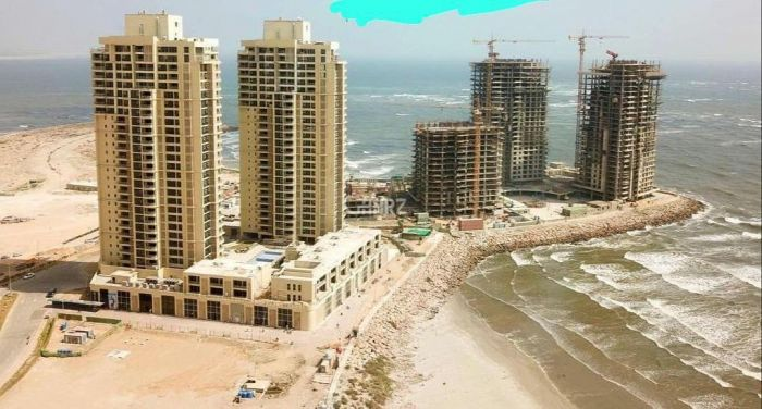 2190 Square Feet Apartment for Sale in Karachi Emaar Crescent Bay, DHA Phase-8