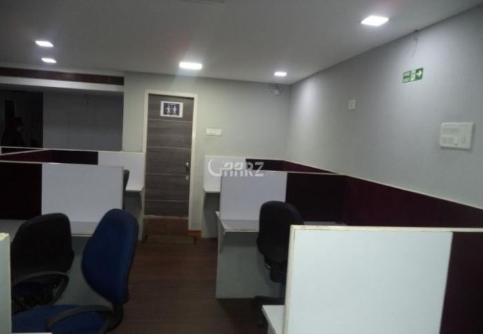 8 Marla Commercial Office for Rent in Karachi Clifton Block-9