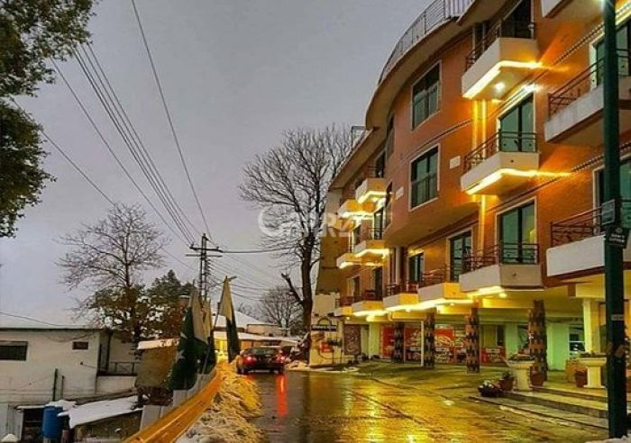900 Square Feet Apartment for Sale in Murree Kuldana Road