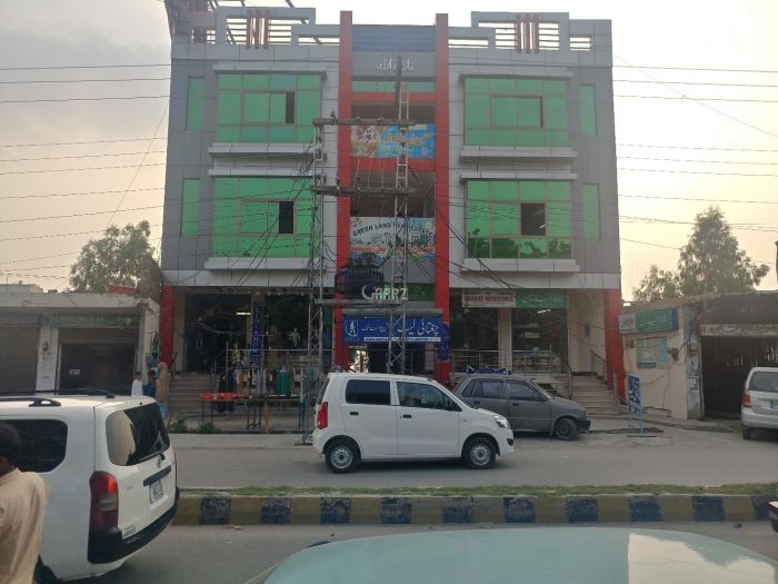 10 Marla Commercial Building for Rent in Attock Kamra Road