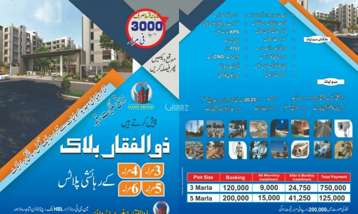 1125 Marla Residential Land for Sale in Sheikhupura Rana Town Ferozwala