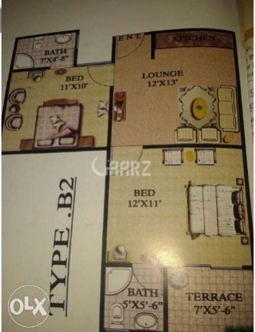 500 Square Feet Apartment for Sale in Karachi Sector-5_m