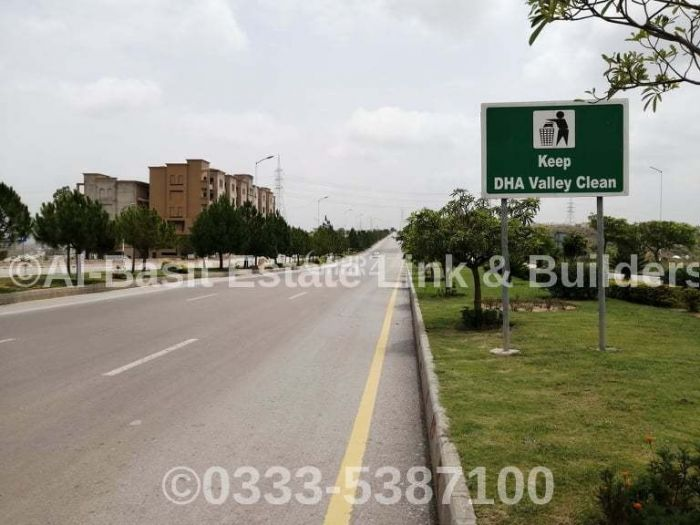 8 Marla Residential Land for Sale in Islamabad DHA Valley, Iris Block