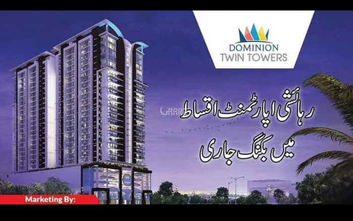 986 Square Feet Apartment for Sale in Karachi Precinct-19,