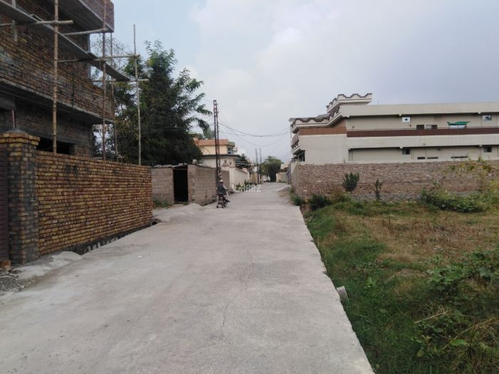 1 Kanal Plot for Sale in Abbottabad Lower Jinnahabad Street-1