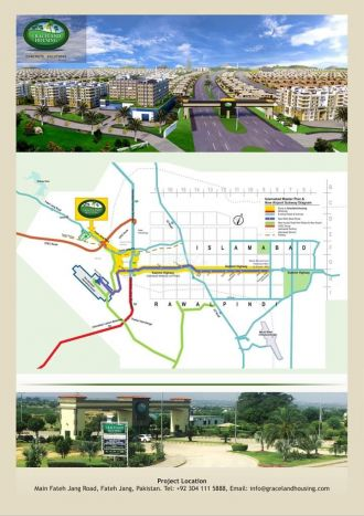 136 Square Yard Residential Land for Sale in Islamabad Near Islamabad International Airport