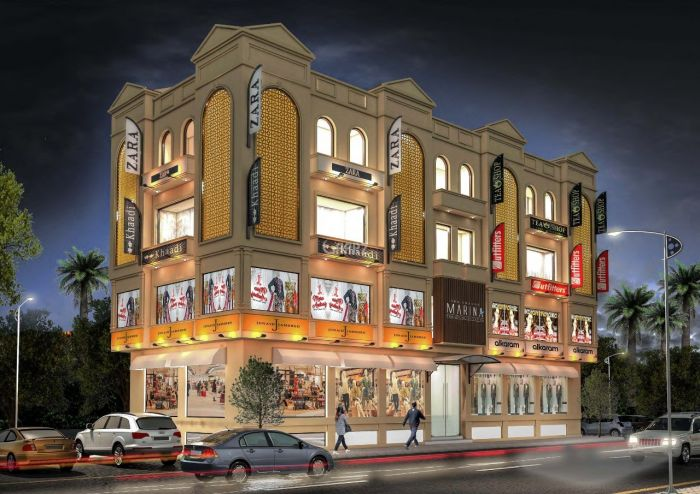 2555 Square Feet Commercial Shop for Sale in Rawalpindi Bahria Town Phase-4