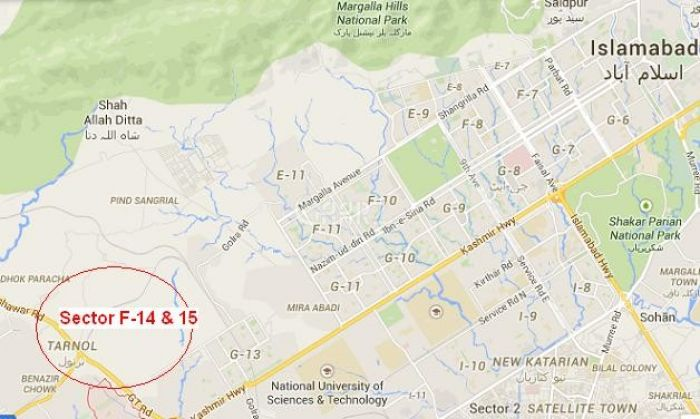 272 Square Yard Land for Sale in Islamabad F-14