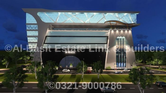 480 Square Feet Commercial Shop for Sale in Islamabad DHA Defence Phase-2, D-mall