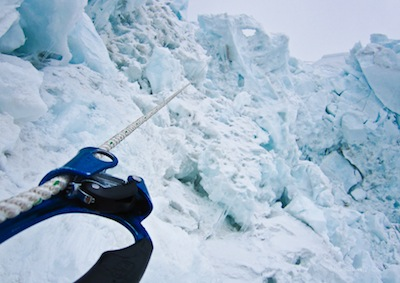 Climbing the Icefall