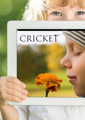 Great reading with Cricket