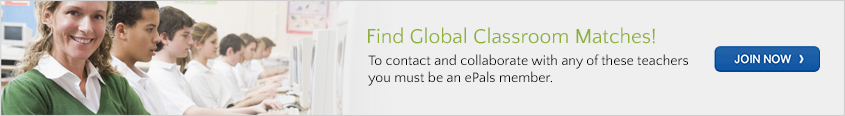 Join ePals to find global classroom matches