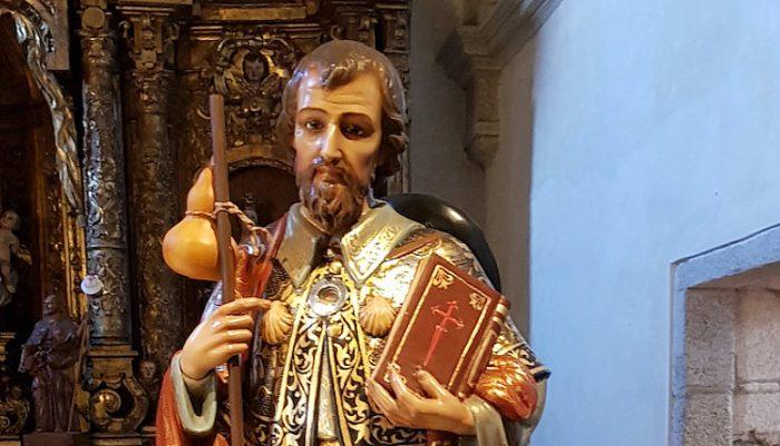 Imagen relicario Apostol Santiago