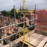 Cruz en el techo de la Catedral de Shrewsbury Gudium Press