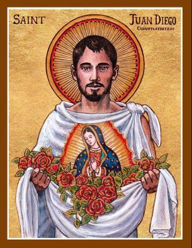 """Papa Francisco llama a San Juan Diego, vidente de Guadalupe, """"Patrono de  los floristas"""""""