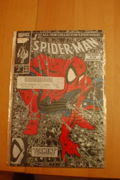 Spider-Man Silver