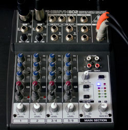 sold wts behringer xenyx 802 mixer. Black Bedroom Furniture Sets. Home Design Ideas