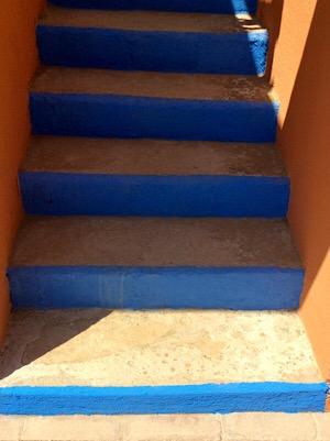 Azul steps1