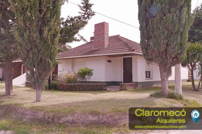 Alquiler temporario de casa en Balneario claromeco
