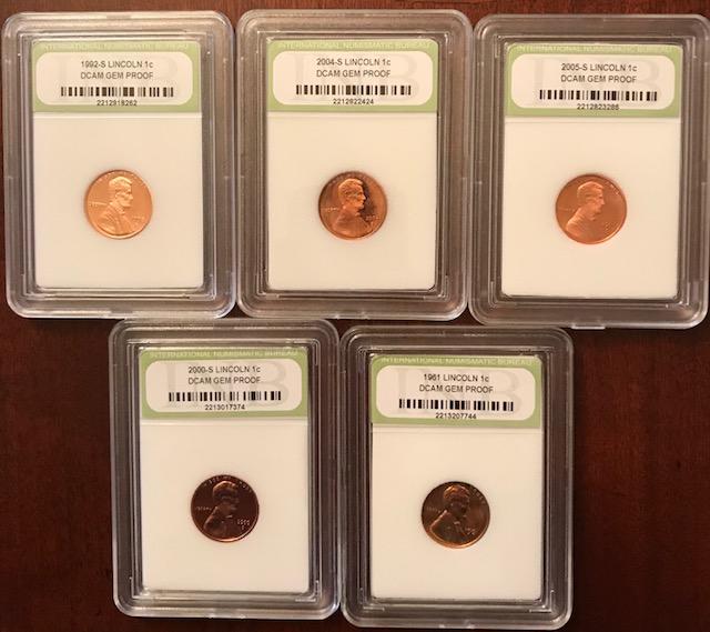 Bid4Assets com > Auction Detail > (836603) 1961-2005 Penny