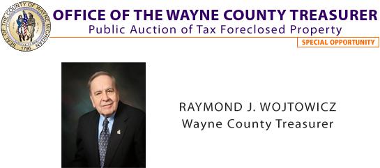 Bid4Assets com > Storefronts > Wayne County Tax Foreclosed