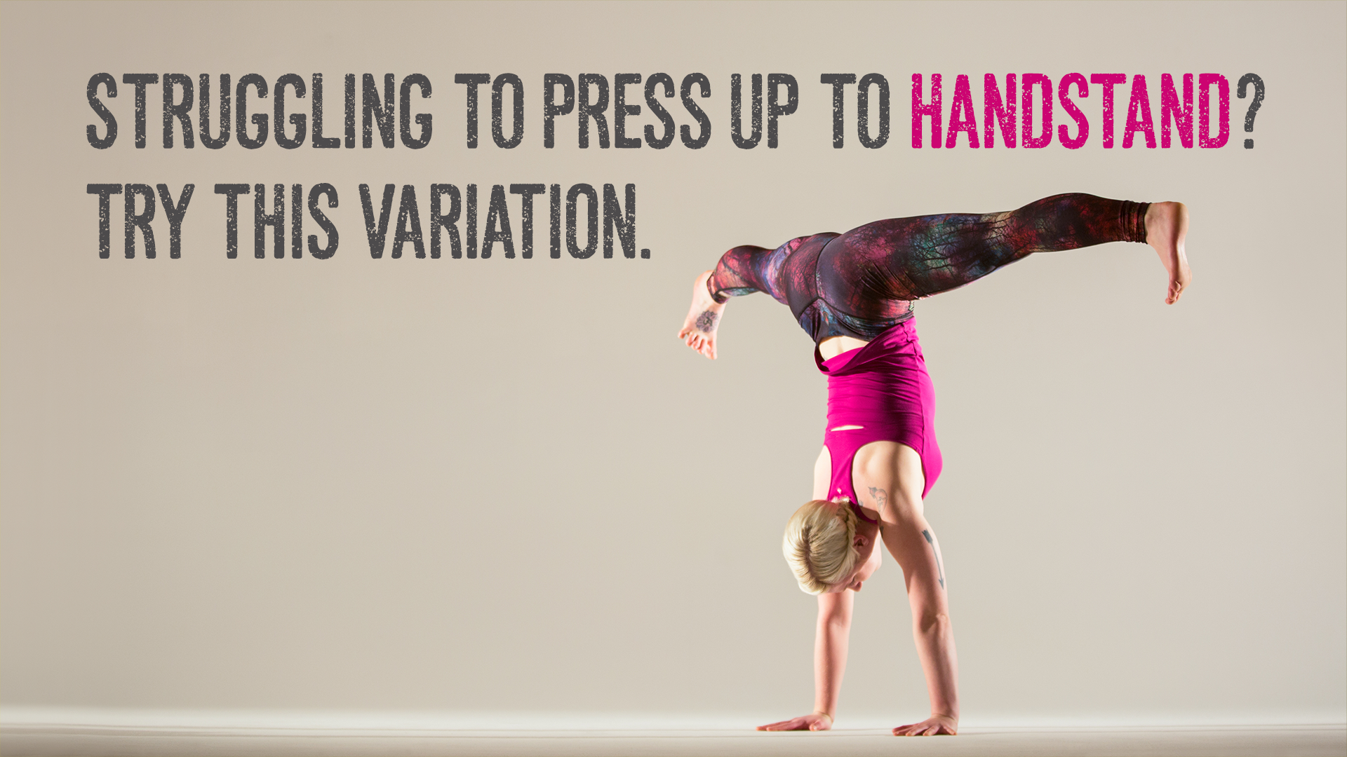 How to Work up to a Handstand Push Up How to Work up to a Handstand Push Up new photo