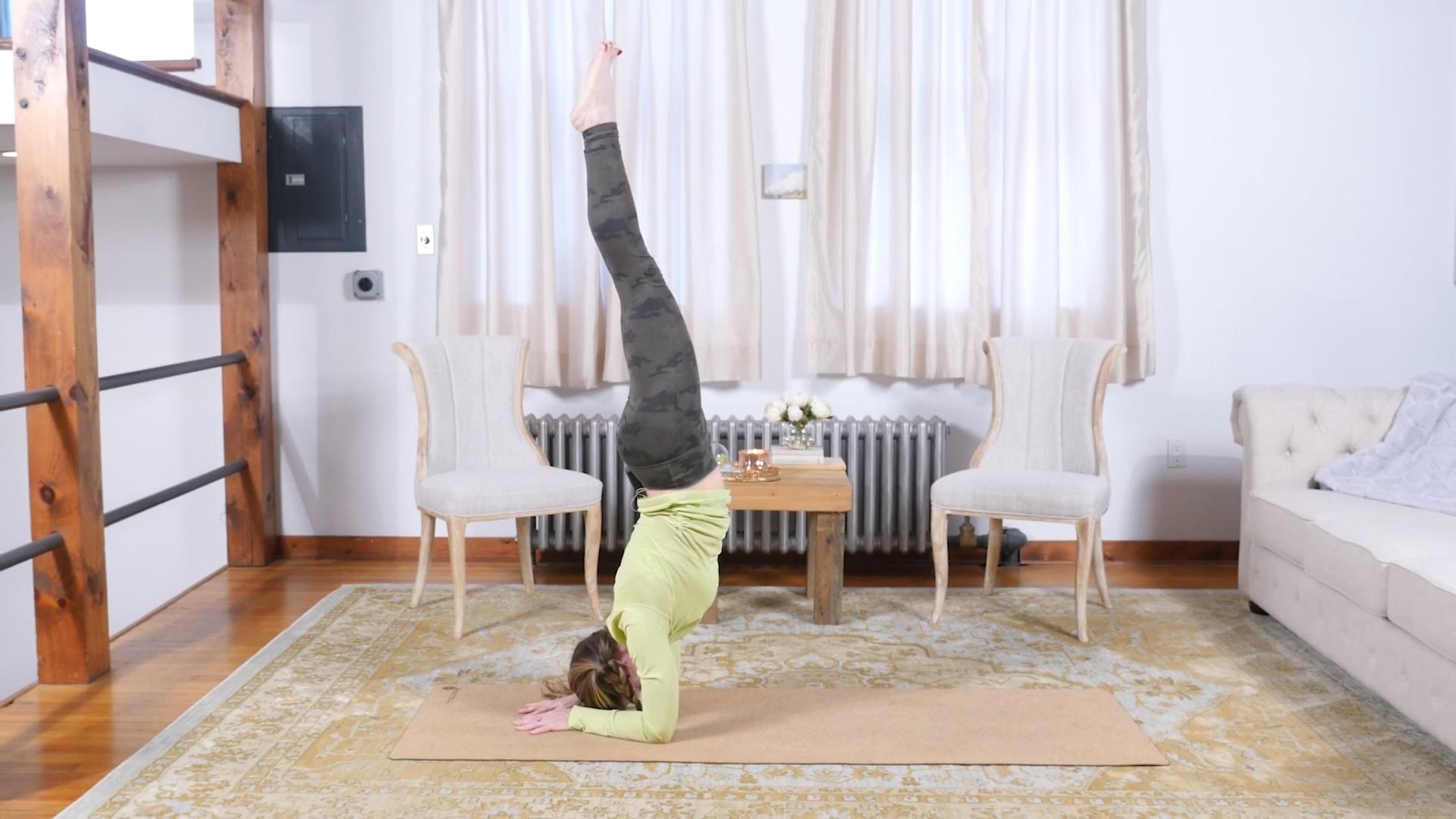 5 Steps to Pincha Mayurasana   Yoga International